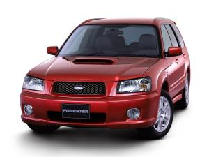 Subaru Forester Cross Sports 2002 года (JP)